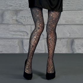 Adult Spiderweb Halloween Tights Costume Accessory