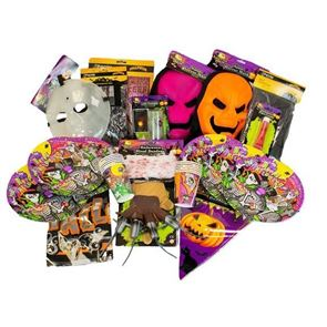 Halloween Horror Shop Mega Value Halloween Decorations and Fancy Dress Party Pack