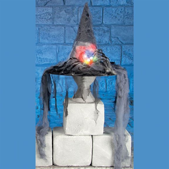 additional image for Battery Powered Light Up Witches Hat