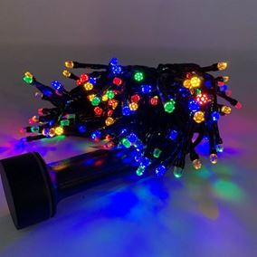192 Multi Coloured Battery Operated LED Durawise Twinkling Compact Lights