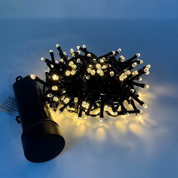 Black/Classic Warm Battery Operated LED Durawise Twinkling ...