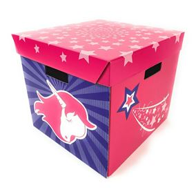 Set of 4 Unicorn Storage Boxes (Large)