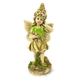 Secret Garden Thinking Fairy Ornament