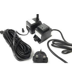 Jeboa 750 Low Voltage Replacement Water Feature Pump and 20VA Transformer Kit