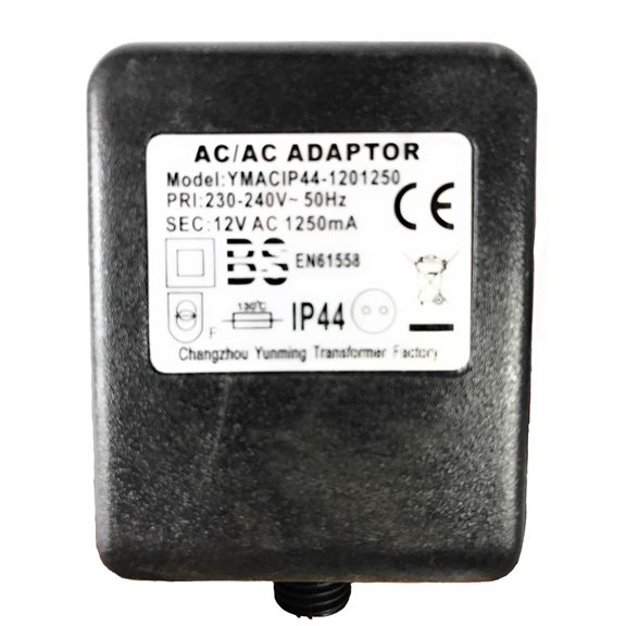 additional image for 12V 1250mA Replacement Indoor Water Feature and Garden Lights Transformer