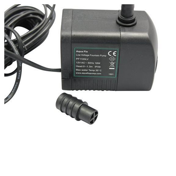 additional image for 1000LPH Replacement Water Feature Pump, Transformer and LED Light Kit