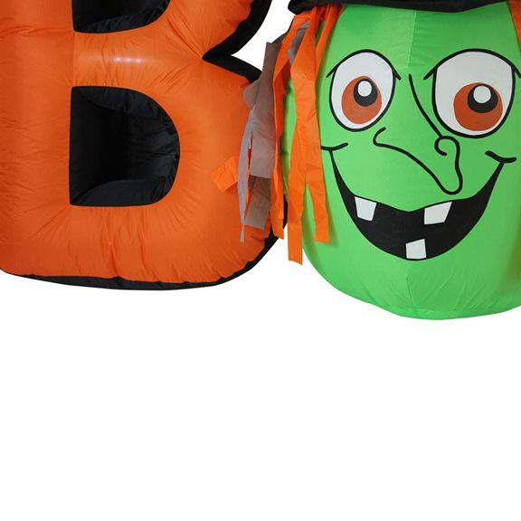 additional image for Giant 'BOO' Halloween Inflatable Indoor and Outdoor Display With Lights