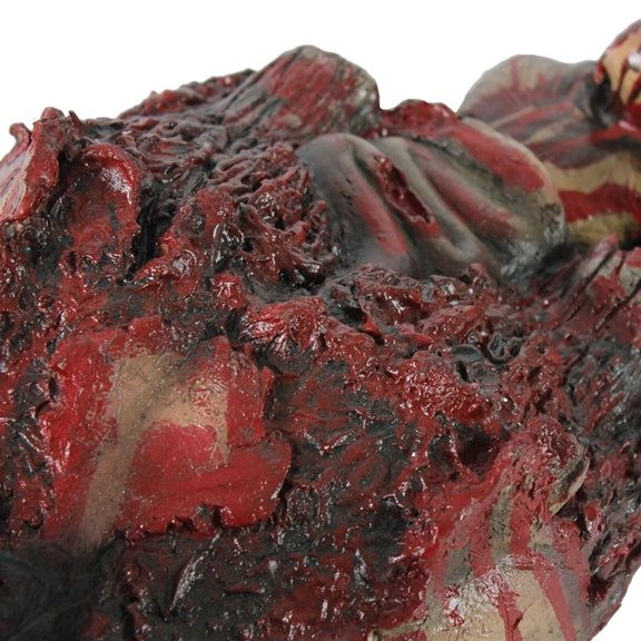 additional image for Gruesome Crawling Torso Animated Halloween Display With Red LED Eyes