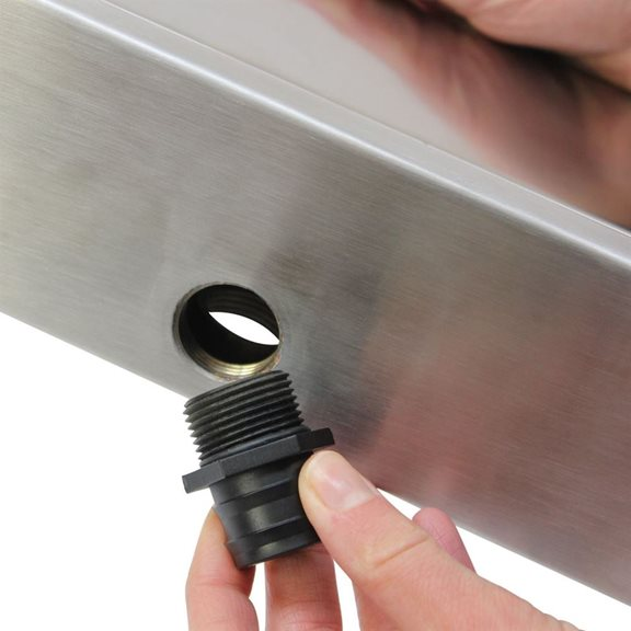 additional image for 60cm Dual Entry Stainless Steel Water Blade Kit