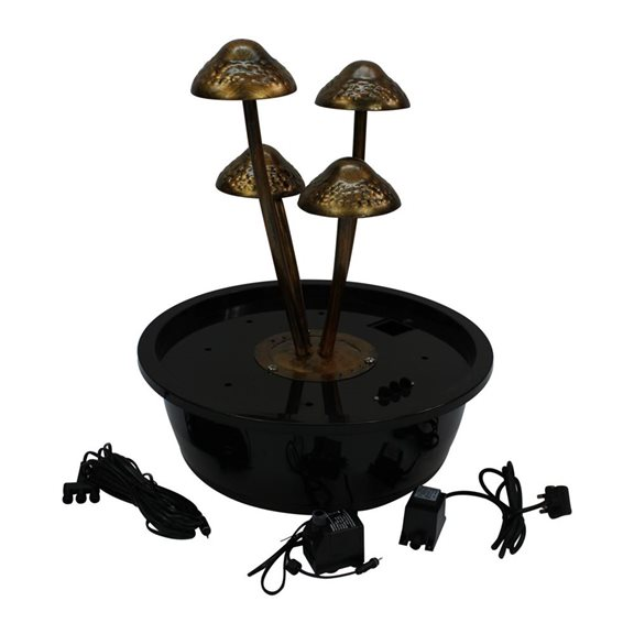additional image for Mushroom Water Feature with LED's