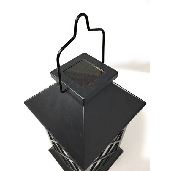 additional image for Solar Traditional Candle Lantern (Black)