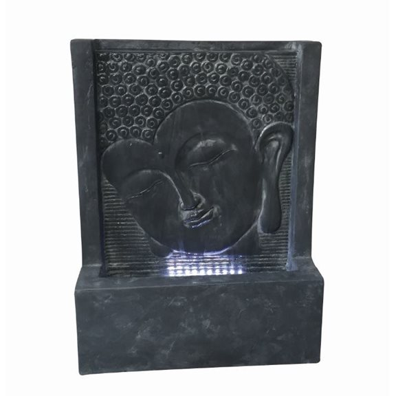 Java Wall Fountain Water Feature with LED Lights