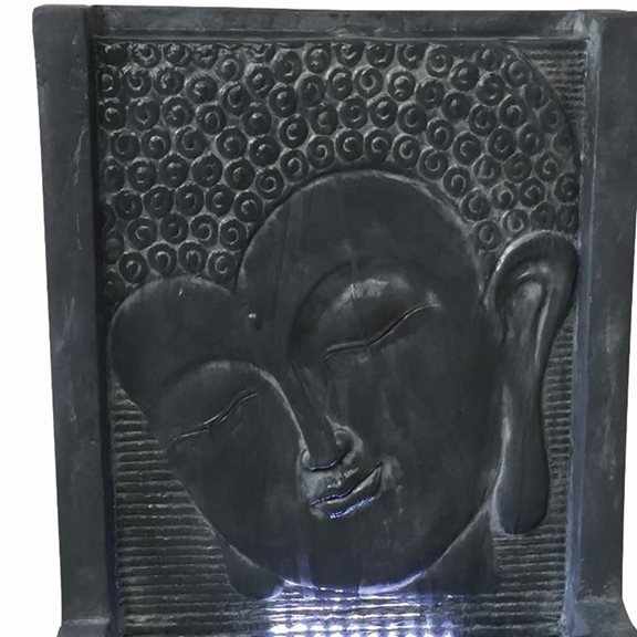 additional image for Java Wall Fountain Water Feature with LED Lights