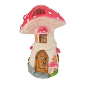 Fairy Toadstool House Solar Light