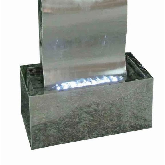 additional image for Naples Stainless Steel Water Feature