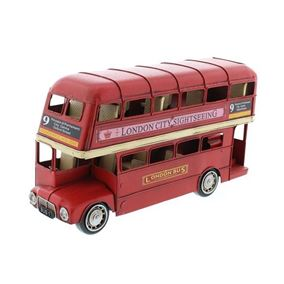 1905 Style Red London Double Decker Iconic Bus