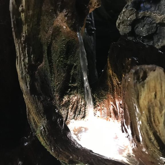 additional image for Bog Oak Falls Lit Water Feature