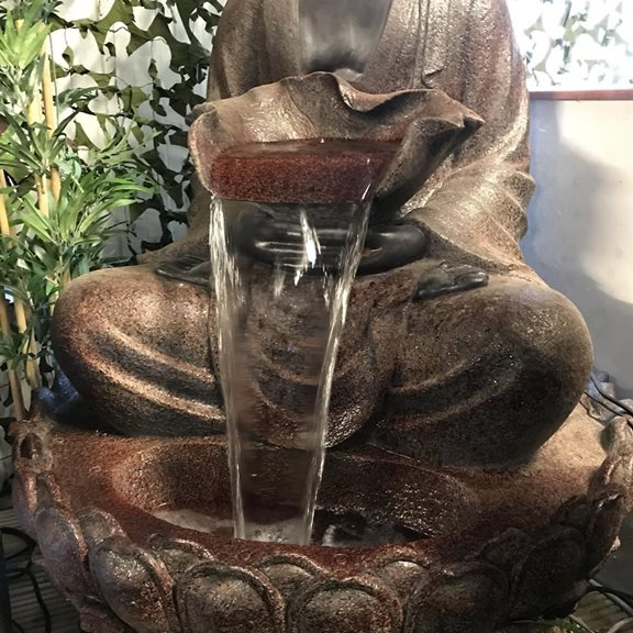additional image for Giant Sitting Buddha Water Feature
