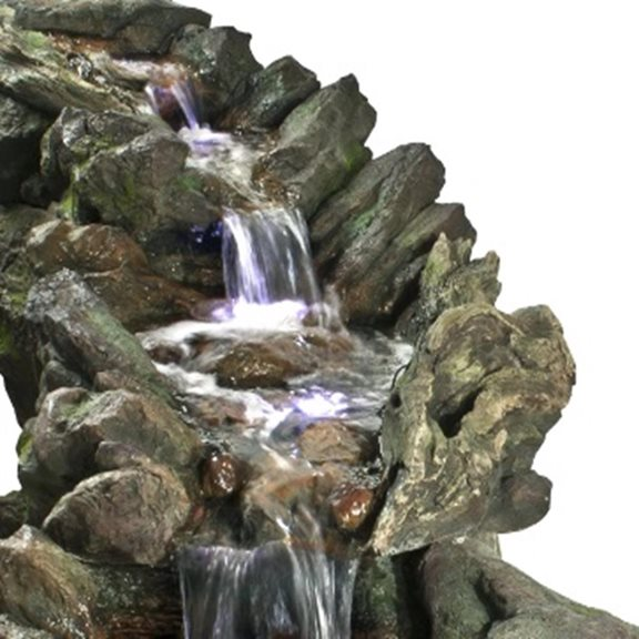 additional image for Rio Grande River Falls Giant Water Feature with Lights