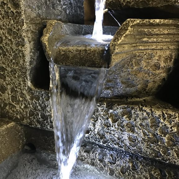 additional image for Large Grey 4 Bowl Water Feature