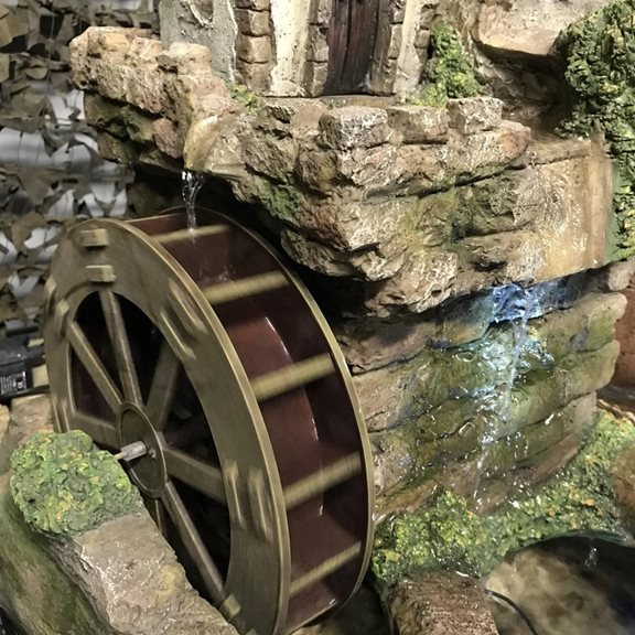 additional image for Paphos Water Wheel Water Feature