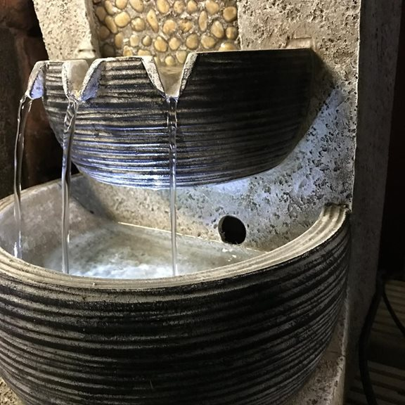 additional image for Bowls on Pebble Falls Water Feature