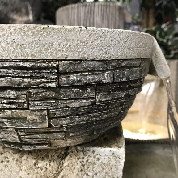additional image for Slate Bowls Water Feature
