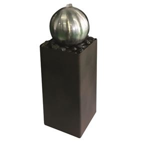 Loreto Zinc Metal Water Feature