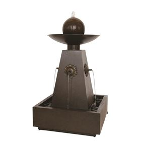Marino Zinc Metal Water Feature