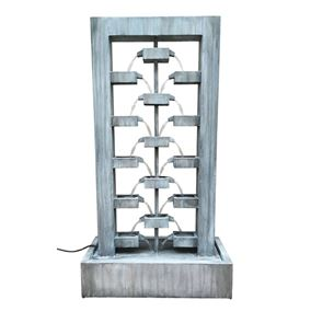 Pavia Pouring Zinc Metal Water Feature