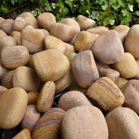 20KG Bag of Luxury Rainbow Garden Water Feature Pebbles