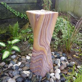 Rainbow Twisted Stone Water Feature Kit