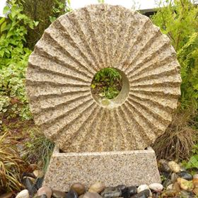 Rising Sun Granite Water Feature Kit