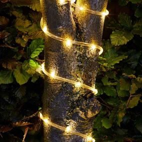 Solar Powered Rope Light with 100 LEDs