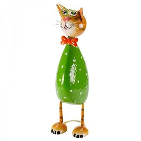 Spangle The Cat Cute Garden Decor Ornament