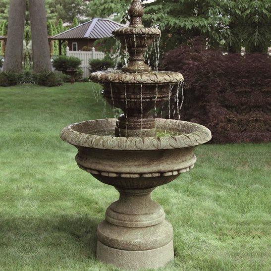 Cast Stone Chanticleer Fountain