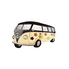 VW Camper Van Wall Art with Mirrored Windows