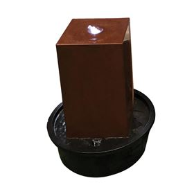 Dhaka Corton Steel Water Feature with LED Light