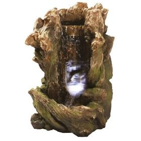 Woodland Waterfall Lit Water Feature