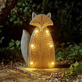 Woodstone Inlight Fox Solar Powered Garden Light