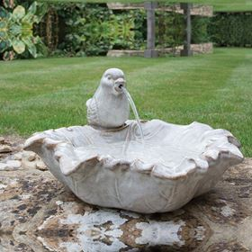 Ouse Traditional Ceramic Bird Water Feature