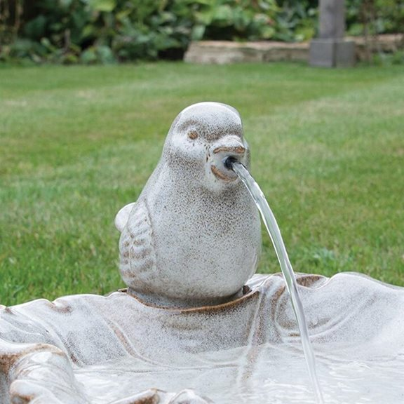 additional image for Ouse Traditional Ceramic Bird Water Feature