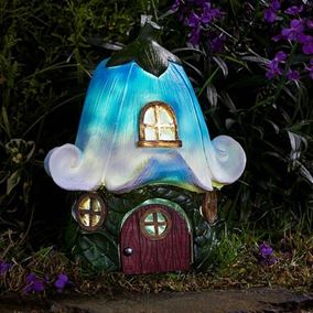 Bluebell Cottage Solar Powered Light Elvedon Collection
