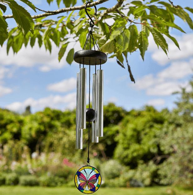 Direct Global Trading 30cm Butterfly Themed Garden Wind Spinner