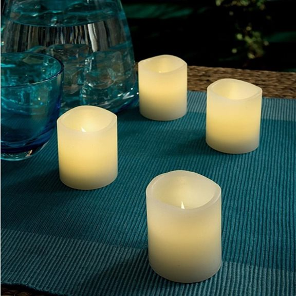 Battery Operated Blow Out Candles (Four Pack)
