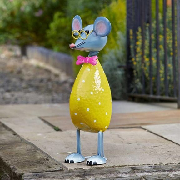 additional image for Mega The Mouse Cute Garden Decor Ornament