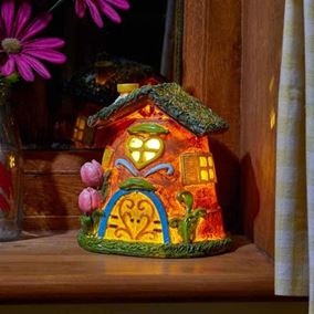 Pot Pad Elvedon Collection Battery Powered Fairy House Light
