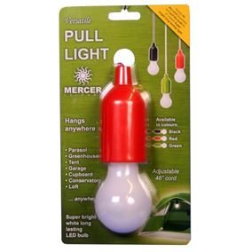 Super Bright LED Pull Light (Red Casing)