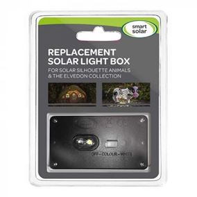 2 Pack Solar Light Box for Smart Garden Silhouette Animals and The Elvedon Collection