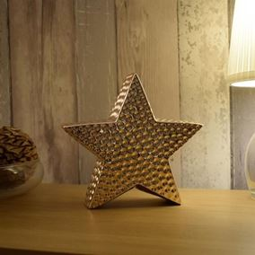 Rose Gold Plated Star Ornament